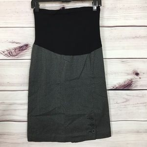 A Pea in the Pod Pencil Skirt